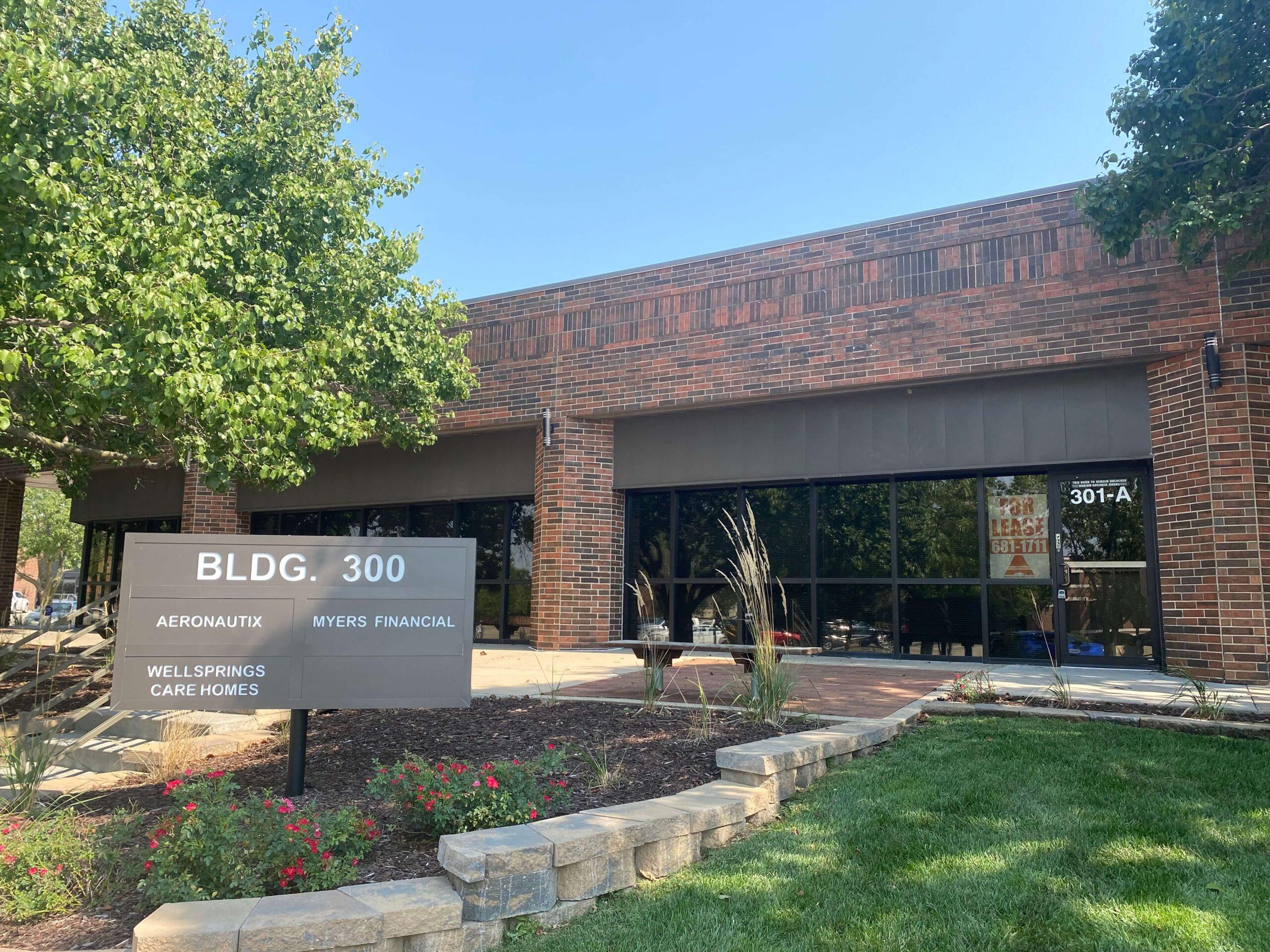 Building 300 exterior